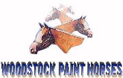 WOODSTOCK PAINT HORSES